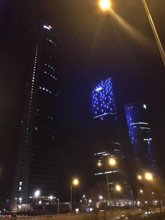 Torre PwC, Torre Espacio,Torre de Cristal